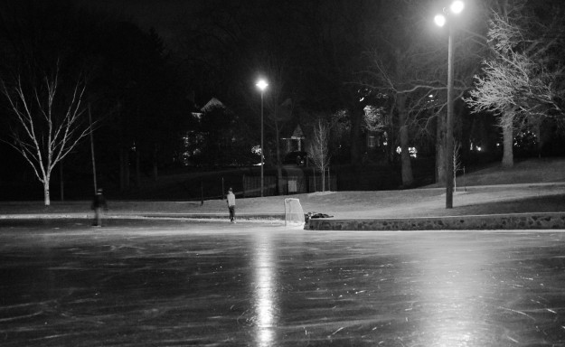 Chippawa Park at night. (All photos by Joe Barkovich)