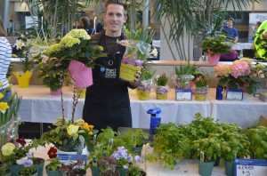 Grown at the college's greenhouse at its horticultural centre,  Niagara-on-the-Lake campus.