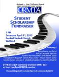 ormta fundraiser poster