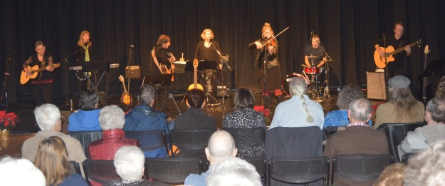 Kindred, at their concert Saturday evening in the Welland Community Wellness Complex theatre. (Photo by Joe Barkovich)