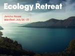 Ecology-Retreat