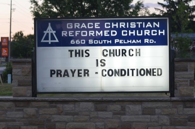 prayer conditioned